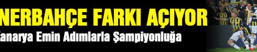 Lider Fenerbahçe, 2 takipçisinin puan kaybettiği haftada