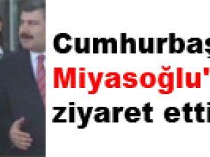 Cumhurbaşkanı Gül, Miyasoğlu'nu ziyaret etti - video