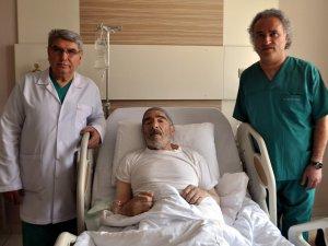 KAYSERİ'DE ÖZEL DÜNYAM HASTANESİ'NDEN BAŞARILI AMELİYAT