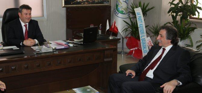 KELEŞTEMUR'DAN PALANCIOĞLU'NA ZİYARET