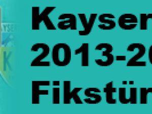 Kayserispor 2013-2014 Fikstürü