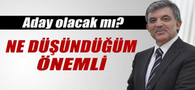 Cumhurbaşkanı Gül Cumhurbaşkanlığına 4-5 ay bir süre kaldı