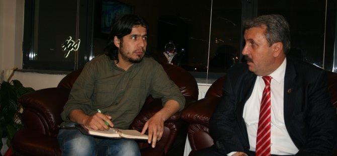 Destici Kılıçdaroğlu'na Yapılan Saldırıyı Kayserinews.com aracılığıyla kınadı