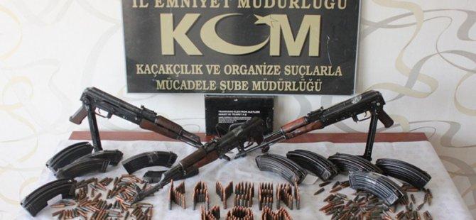 KAYSERİ'DE KALAŞNİKOF BASKIN