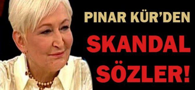 Pınar Kür başörtülü kadınlara hakaret etti