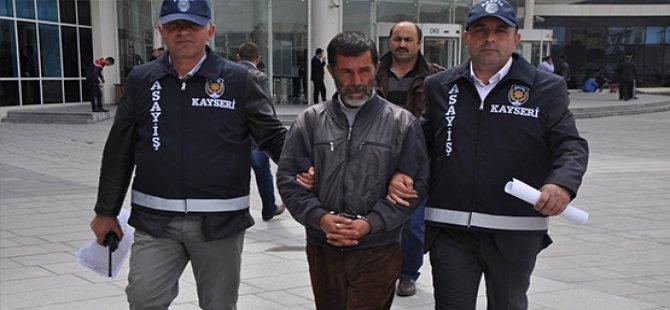 Kayseri'de Okuldan Hırsızlık Yapan Zanlı Tutuklandı