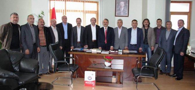 KAYSERİ MEMUR-SEN'DEN HACILAR BELEDİYESİ'NE ZİYARET