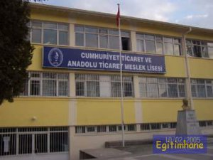 CUMHURİYET TİCARET MESLEK LİSESİ ÇANAKKALE'DE