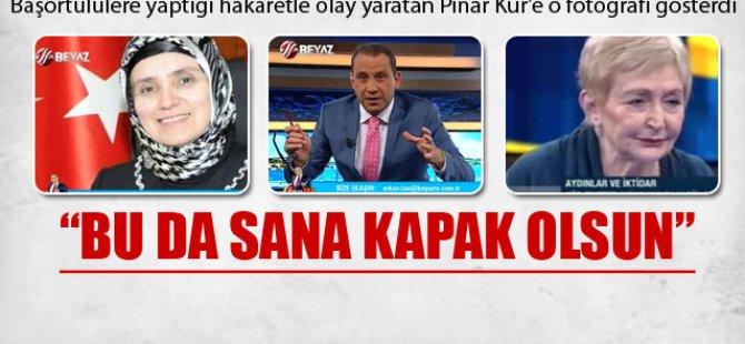 Erkan Tan'dan Pınar Kür'e: Bu da sana kapak olsun
