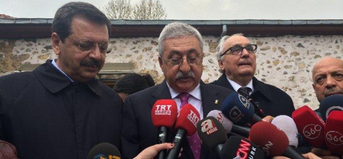 Başbakan Erdoğan Rifat Hisarcıklıoğlu ile buluştu