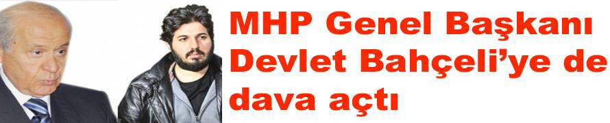 MHP Genel Başkanı Devlet Bahçeli'ye de dava açtı