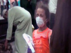 Mısır- Metro istasyonuna saldırı - VİDEO