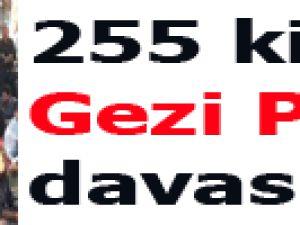 255 kişiye Gezi Parkı davası!