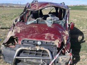 Kalaba'da trafik kazası 1 ölü 5 yaralı