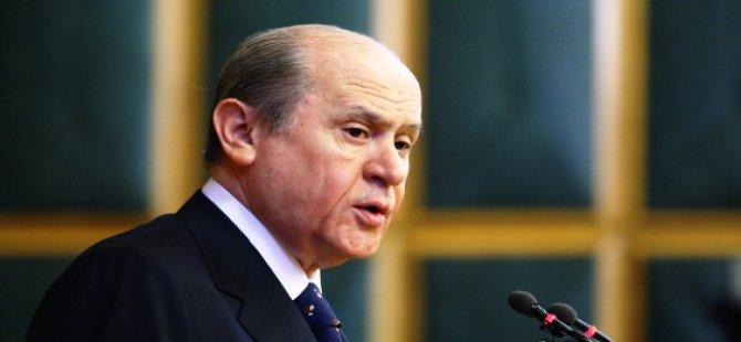 Bahçeli 'Erdoğan Cumhurbaşkanı olamayacak'