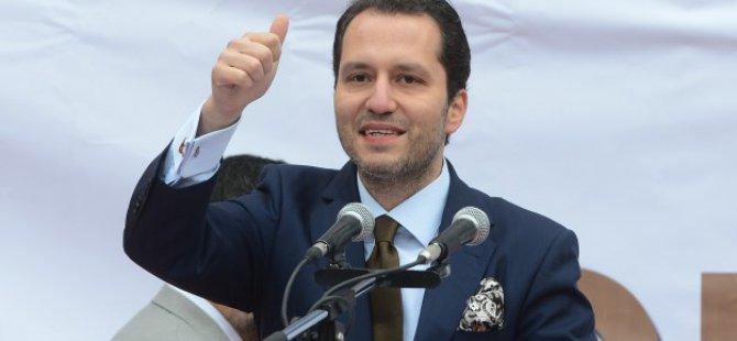 Fatih Erbakan SP Genel Başkanlığı'na adaylığını açıkladı
