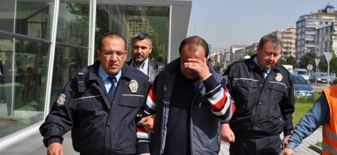 KAYSERİ'DE İŞSİZ KALDI İNŞAATIN 17. KATINA ÇIKTI