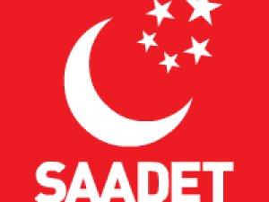 SAADET PARTİSİ GENEL MERKEZİ'NDEN RESMİ AÇIKLAMA