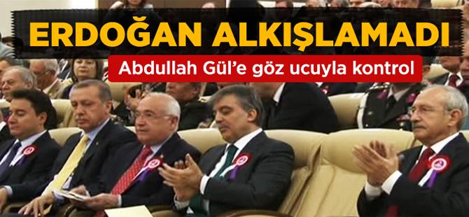 Gül Alkışladı Erdoğan Haşim Kılıç'ın Konuşmasını Alkışlamadı