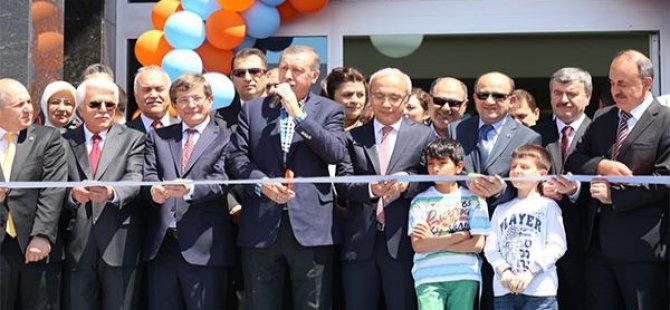 Başbakan Erdoğan, Kon Tv'nin devasa binasını açtı