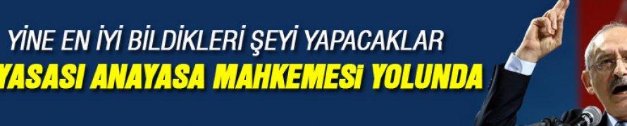 CHP MİT yasasını Anayasa Mahkemesi'ne götürüyor
