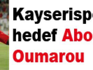 Kayserispor'da hedef Aboubakar Oumarou