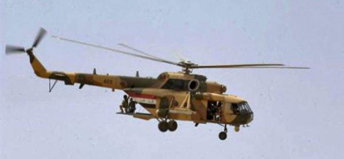 PKK, Askeri Helikoptere Saldırdı!