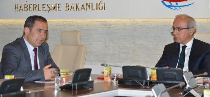 Anadolu Yayın Platformu Bakan Elvanı ziyaret etti