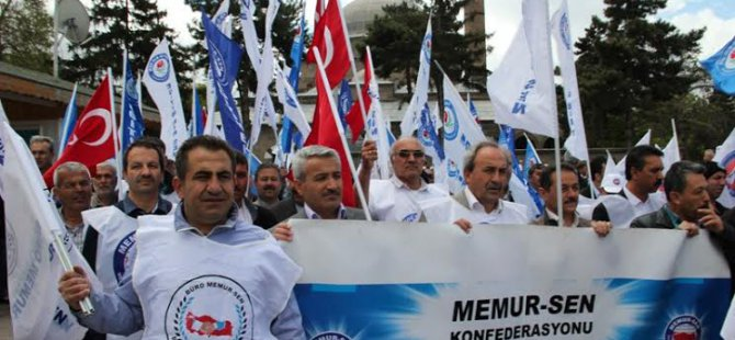 KAYSERİ MEMUR - SEN 1 MAYIS'I KUTLADI