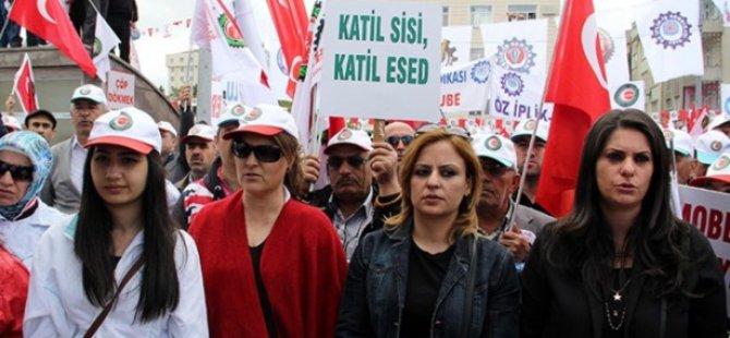 Kayseri'de 1 Mayıs Çoşkusu