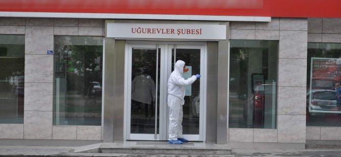KAYSERİ UĞUR EVLER'DE BANKA SOYGUNU