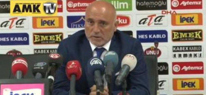 Erciyesspor - Gaziantepspor Maçının Ardından