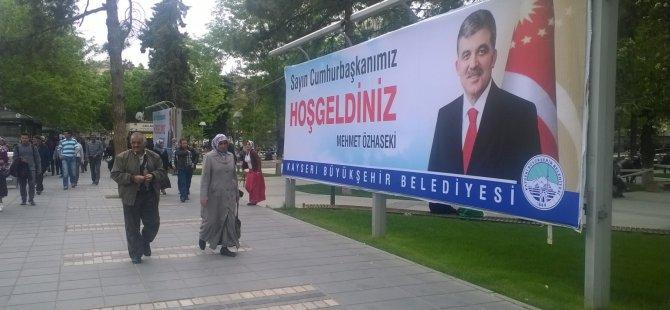 CUMHURBAŞKANI GÜL KAYSERİ'YE GELİYOR