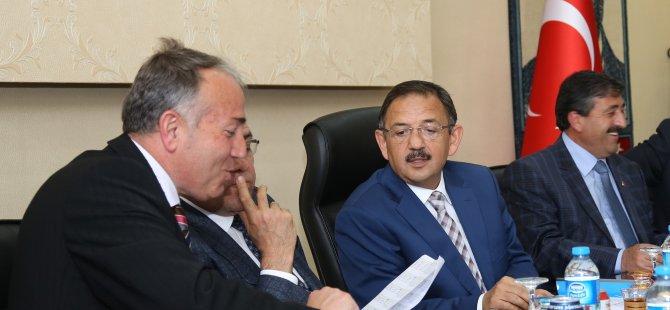 Başkan Özhaseki,Tomarza'da Şimdi iş yapma zamanı