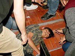 Kayseri'de Ülkücüler Solculara saldırdı
