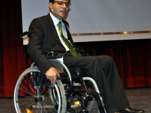 Erciyes Engelliler Spor Kulübü Genel Sekreteri Kadircan Gökalp