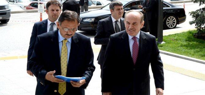 Özhaseki ve Başbakan Erdoğan Buluşması