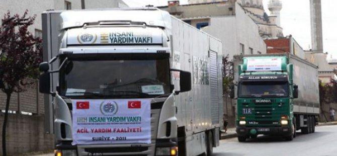 Suriye uçakları Türk TIR'ını vurdu