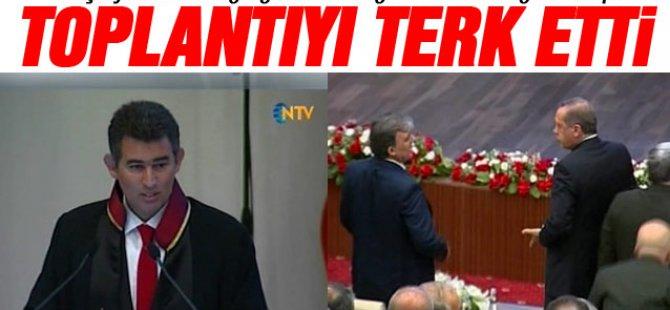 Başbakan Erdoğan Baro Başkanına kızdı-VİDEO