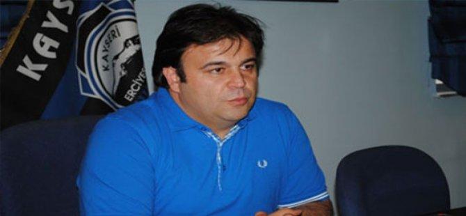 Erciyesspor Ligde Kaldı Başkan Ziya Eren gözyaşlarına boğuldu