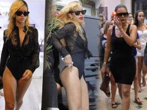 Rihanna mayoyla alışverişe çıktı