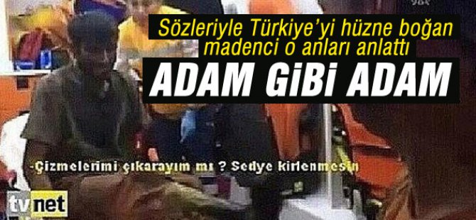 Türkiyeyi Hüzne Boğan Madenci Sağlık ekipleriyle diyaloğu