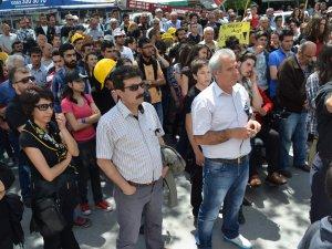 KAYSERİ'DE DİSK VE KESK'TEN SOMA YÜRÜYÜŞÜ