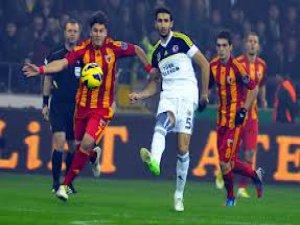 Fenerbahçe ile Kayserispor, Kayseri'de 19. kez karşılaşacak.