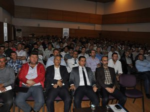 Minibüsçüler ve Servis İşletmecileri Esnaf Odasına seminer verdi