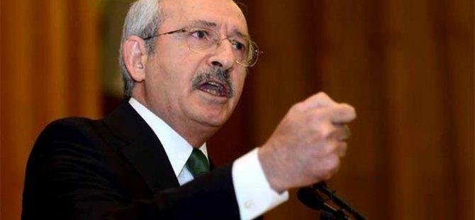 Kııçdaroğlu Soma'da hayatını kaybeden işçilerin tek tek isimlerini okudu