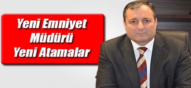 Kayseri'de 67 polis, başka birimlere atandı