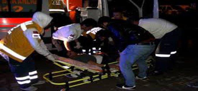 Kayseride trafik kazası 5 kişi yaralandı