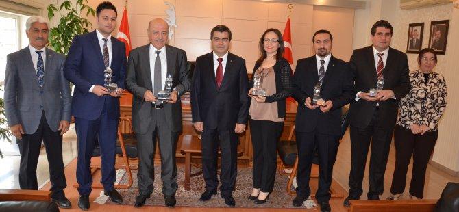 Vali Düzgün, Kayseri'nin tanıtımına destek verenleri kabul etti