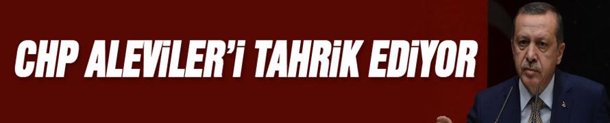 CHP ALEVİLERİ TAHRİK EDİYOR